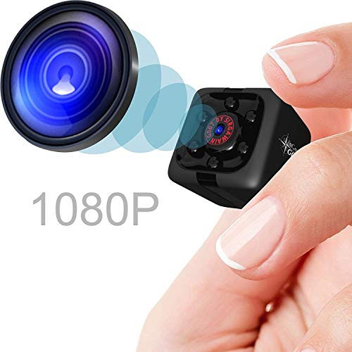 Mini Spy Camera 1080P Hidden Camera | Portable Small HD Nanny Cam...