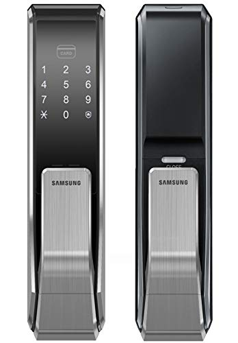 Samsung Digital Door Lock SHS-P717LBK/EN Push Pull Two Way Latch...
