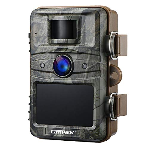 Campark Upgrade T70 Trail Game Camera No Glow 16MP 1080P Night...