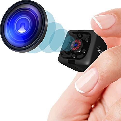 Mini Spy Camera 1080P Hidden Camera - Portable Small HD Nanny Cam...