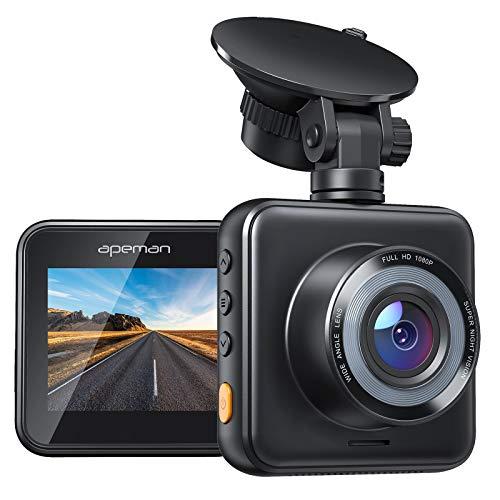 APEMAN Mini Dash Cam 1080P Car Camera Driving Recorder Night...