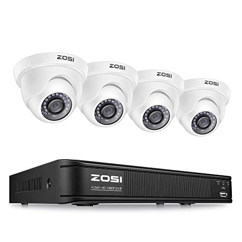 ZOSI 1080p Surveillance Camera System for Home, 8 Channel...