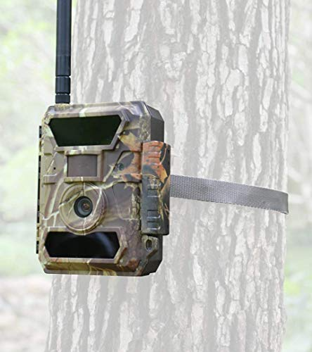 3G Bigfoot Trail Camera - Affordable Data Plan and Easy Setup -...