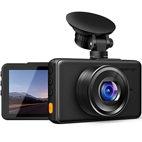 APEMAN Dash Cam 1080P FHD DVR Car Driving Recorder 3 Inch LCD...
