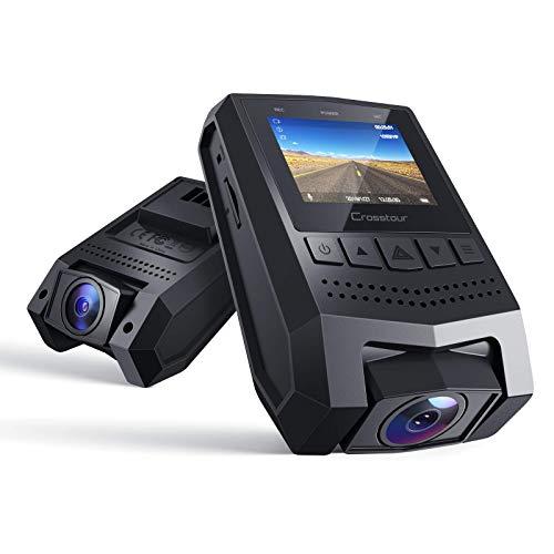 "Crosstour Mini Dash Cam 1080P FHD Car Camera Recorder with 1.5""..."