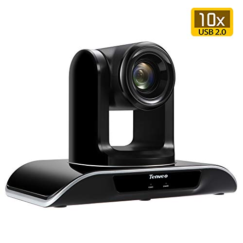 Tenveo Video Conference Camera 10X Optical Zoom Full HD 1080p USB...