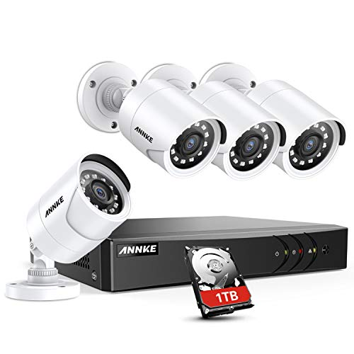ANNKE 8 Channel Security Camera System 5-in-1 5MP lite H.265+...