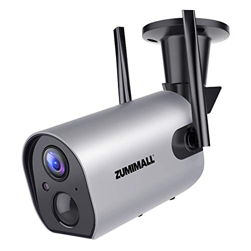 Wireless Outdoor WiFi Security Camera, Rechargeable...