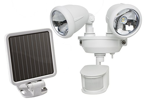 MAXSA Innovations 40218 Motion-Activated Dual Head LED Security...
