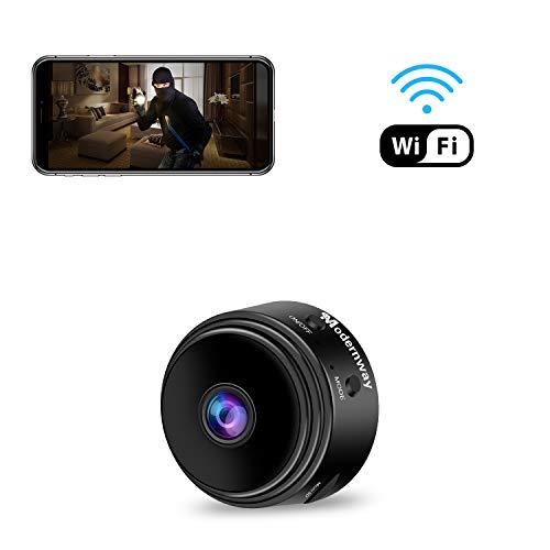 Mini Spy Camera WiFi Hidden Camera, Modernway 1080P Wireless...