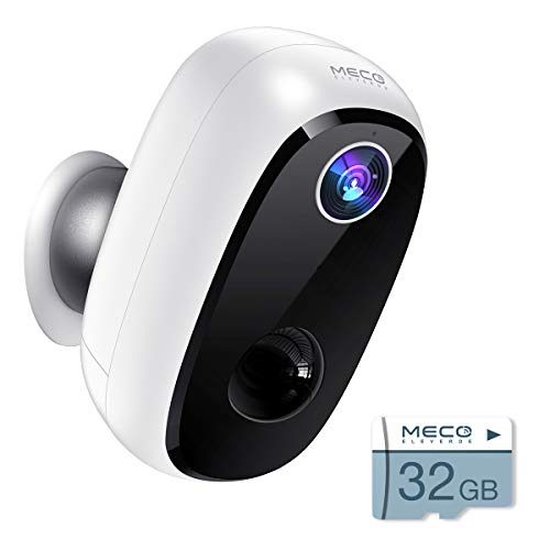 【32GB Include】 Wireless Outdoor Security Camera, MECO 1080P...