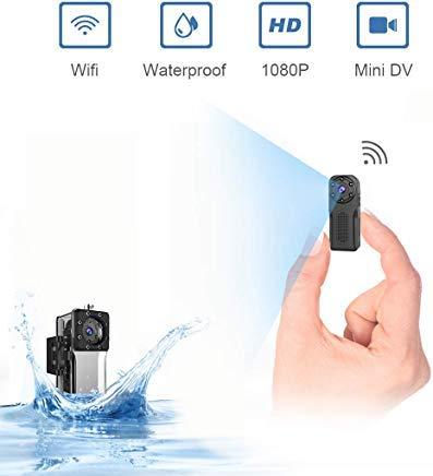 Waterproof SpyCameraWireless Hidden,ZZCP WiFi FullHD 1080P...