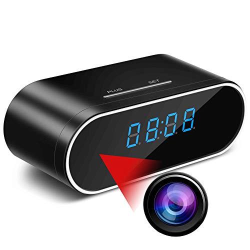 Spy Camera MCSTREE Hidden Camera in Clock WiFi Hidden Cameras...