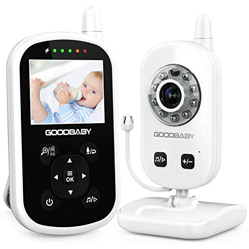 Video Baby Monitor with Camera and Audio - Auto Night...