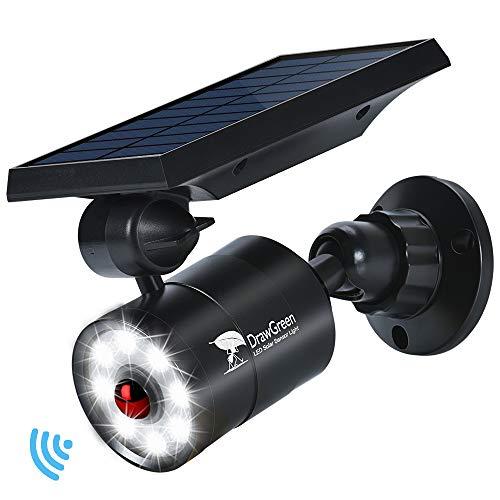 Solar Lights Outdoor Motion Sensor, 1400-Lumen Bright LED...