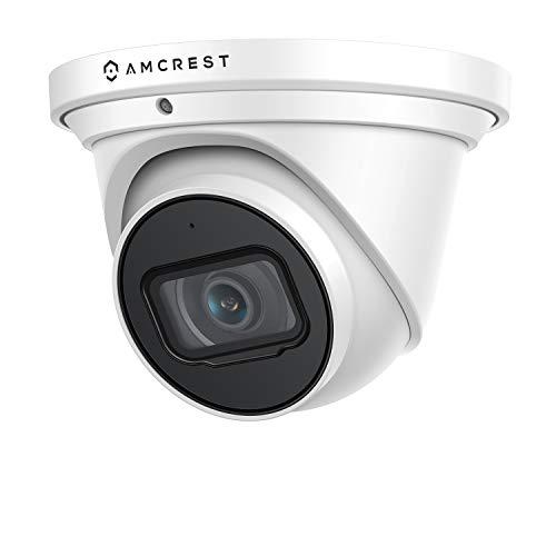 Amcrest UltraHD 4K (8MP) Outdoor Security IP Turret PoE Camera,...