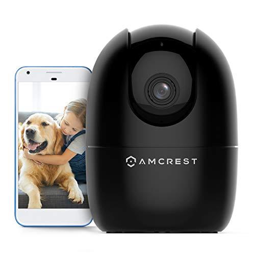 Amcrest 1080P WiFi Camera Indoor, Nanny Cam, Dog Camera, Sound &...