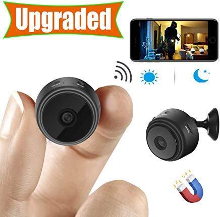 [Upgraded] Spy Camera Wireless Hidden Cameras Mini WiFi Cam HD...