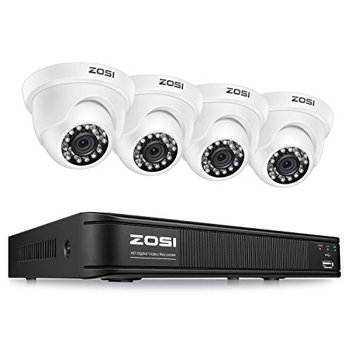 ZOSI 1080P 8 Channel Video Security Camera System,Surveillance...