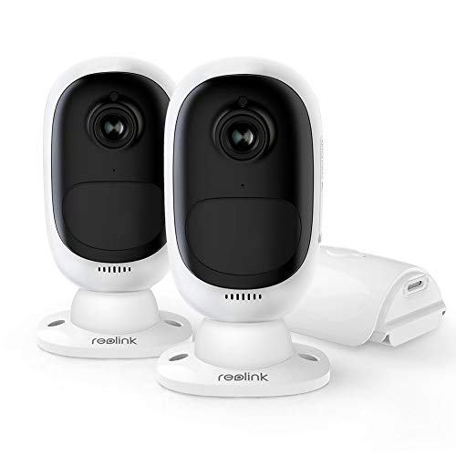 REOLINK Battery Powered Security Camera System Wireless Solar...