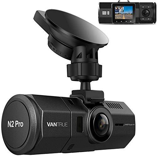 Vantrue N2 Pro Uber Dual 1080P Dash Cam, 2.5K 1440P Dash Cam,...