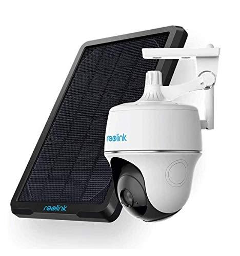 Reolink Argus PT w/ Solar Panel - Wireless Pan Tilt Solar Powered...