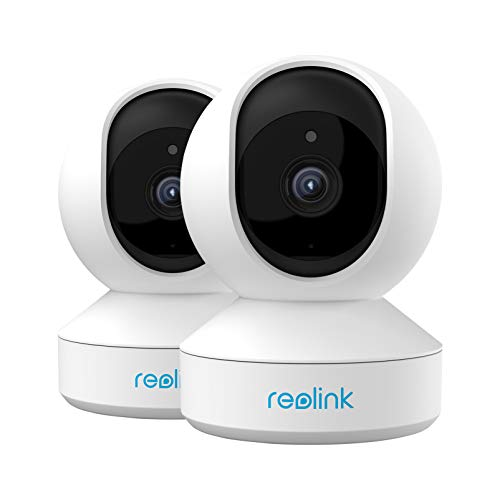 Home Security Camera System, Reolink 3MP HD Plug-in Indoor WiFi...