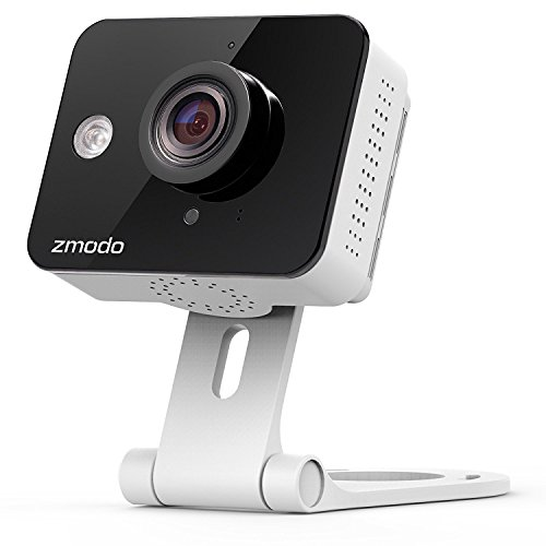 Zmodo ZM-SH75D001-WA 720p HD Mini WiFi Camera with Two-Way Audio...