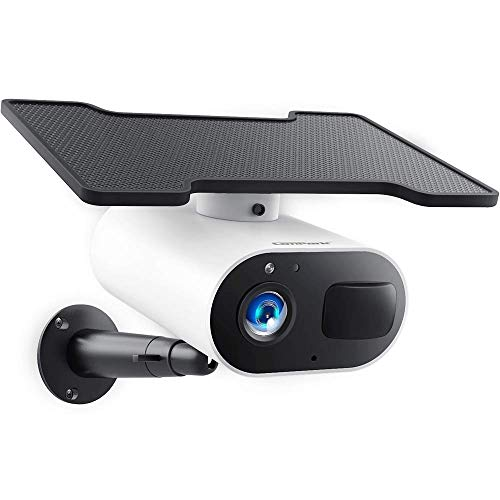 Wireless Security Camera Outdoor, Solar Battery Powered, Campark...