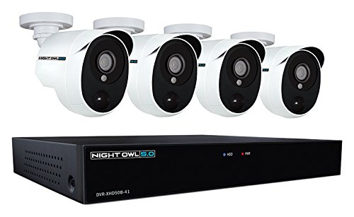 Night Owl XHD501-44P-B 4 Channel 5MP Extreme HD Video Security...
