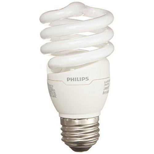 Philips Energy Saver Compact Fluorescent T2 Twister Household...