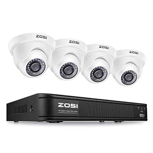 ZOSI 1080P H.265+ 8 Channel Video Security Camera...