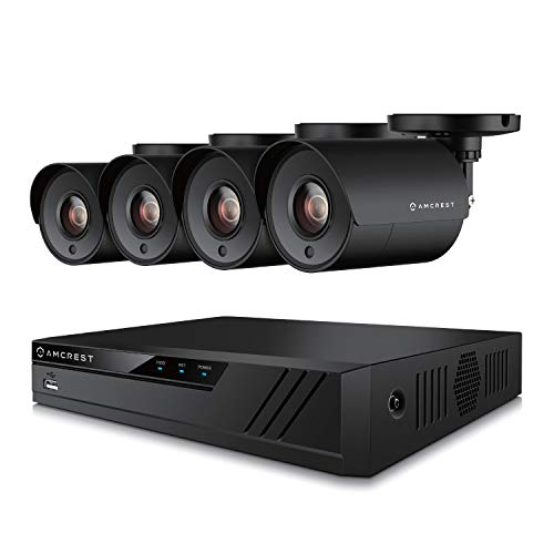 Amcrest UltraHD 4-Megapixel 8CH Video Security System with Four...