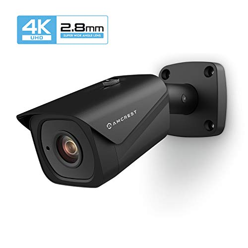 Amcrest UltraHD 4K (8MP) Outdoor Bullet POE IP Camera, 3840x2160,...