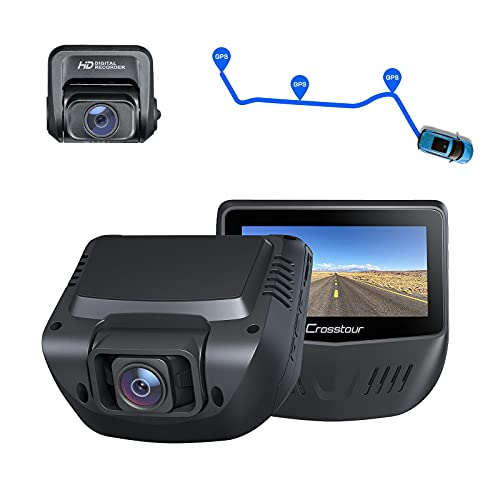 Dual Dash Cam, Front and Rear 1080P Dash Camera for Cars,...