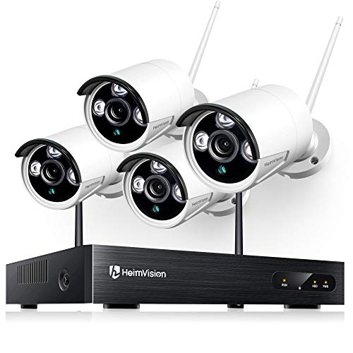 heimvision HM241 1080P Wireless Security Camera System, 8CH NVR...
