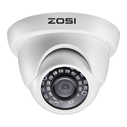 ZOSI 1080P 1920TVL Hybrid 4-in-1 TVI CVI AHD CVBS Security...