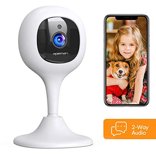 [2020 New] APEMAN Baby Monitor Camera with Crying Alerts and...