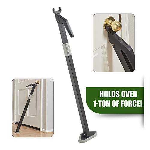 Heavy Duty Security Door Bar | Fully Adjustable, Universal Door...