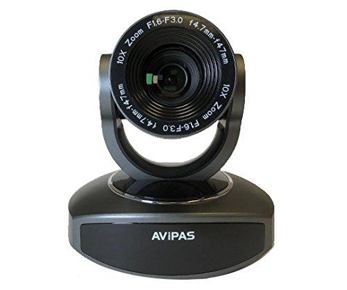 AViPAS AV-1081G 10x HDMI PTZ Camera with IP Live Streaming - Dark...