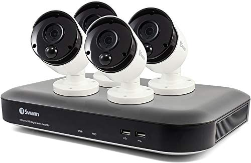 Swann Home Security Camera System, 4K Ultra HD 8 Channel 4 Bullet...