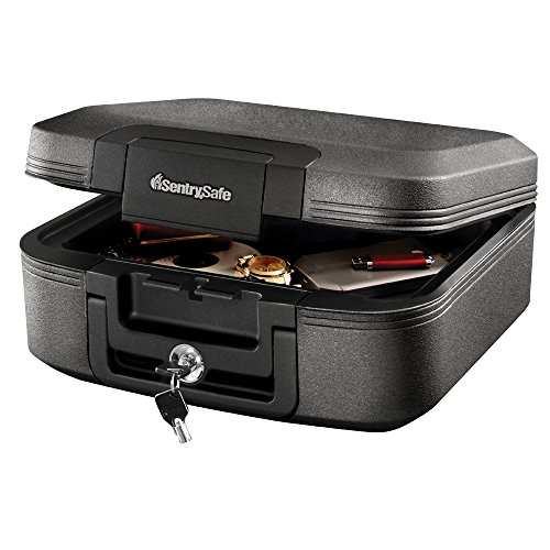 SentrySafe CHW20221 Fireproof Box and Waterproof Box with Key...