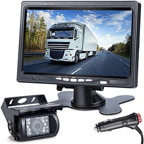 DVKNM Upgrade Backup Camera Monitor Kit,1280X720P HD,IP69...