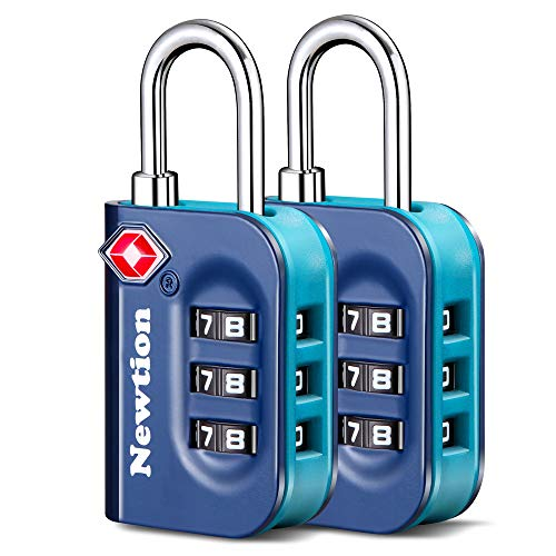Newtion TSA Approved Luggage Lock,Travel Lock with Double Color...