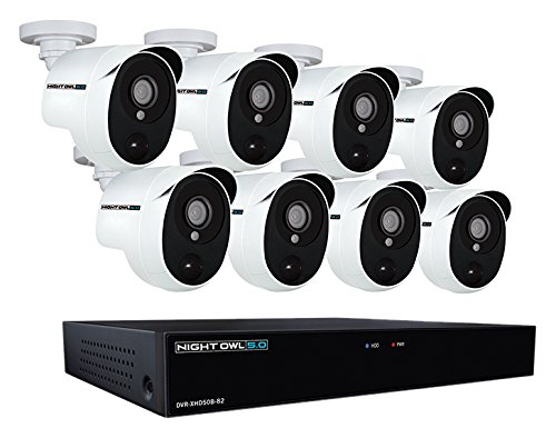Night Owl XHD502-88P-B 8 Channel 5MP Extreme HD Video Security...
