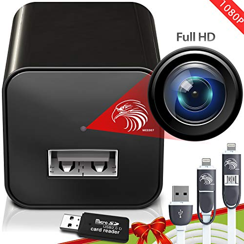 Spy Camera Charger   Hidden Camera   Premium Pack   Mini Spy...