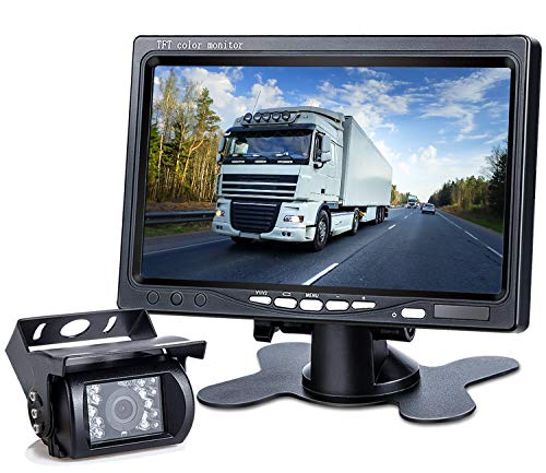 DVKNM Upgrade Backup Camera Monitor Kit,1280X720P HD,IP69...