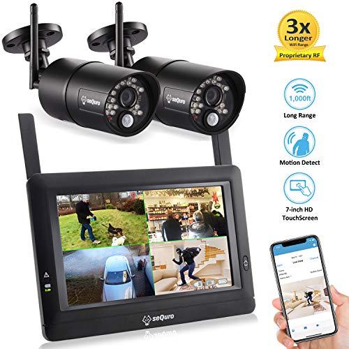 Sequro GuardPro DIY Long Range Wireless Video Surveillance System...