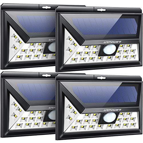 URPOWER Solar Lights Outdoor, 3 Modes Solar Motion Sensor Lights...
