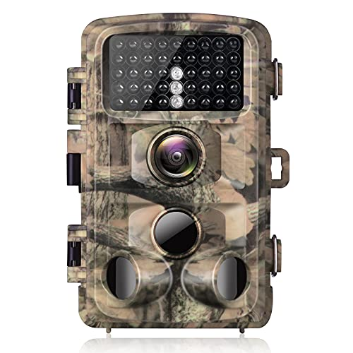 Campark Trail Camera 1080p Waterproof Game Hunting Cam with 3...